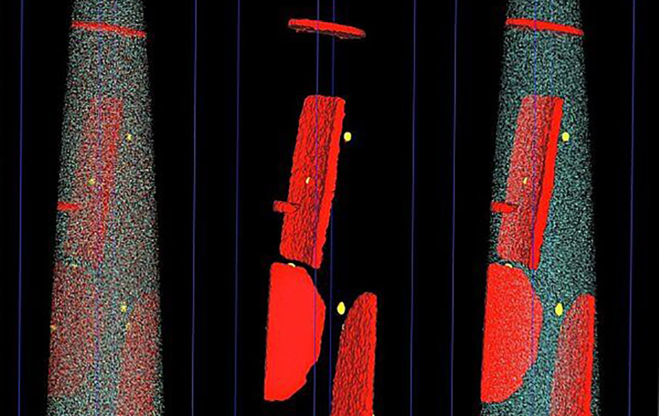 Image taken by the atom probe microscope